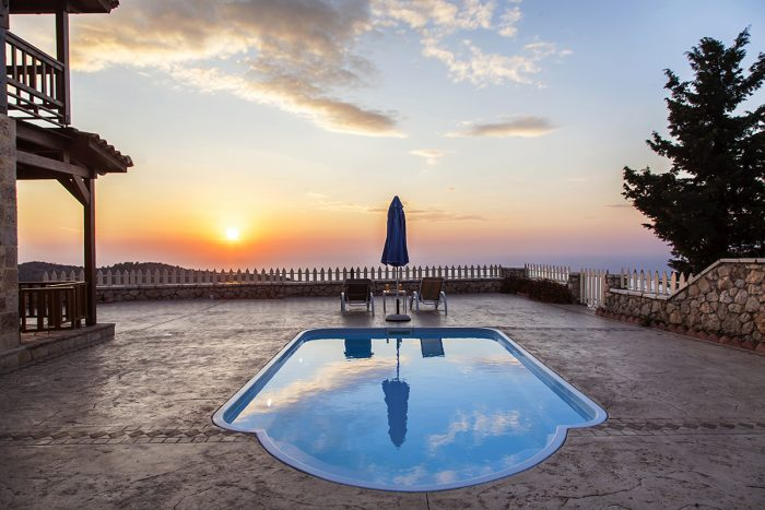 private cottage with sunset ideal for couples