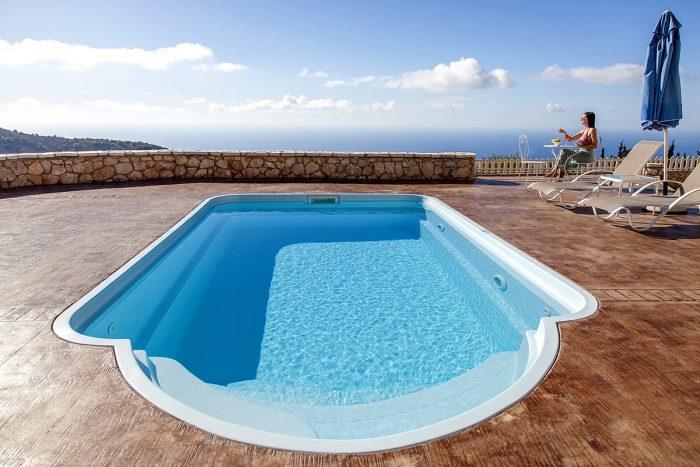 villa paeonia in lefkada is perfect for couples