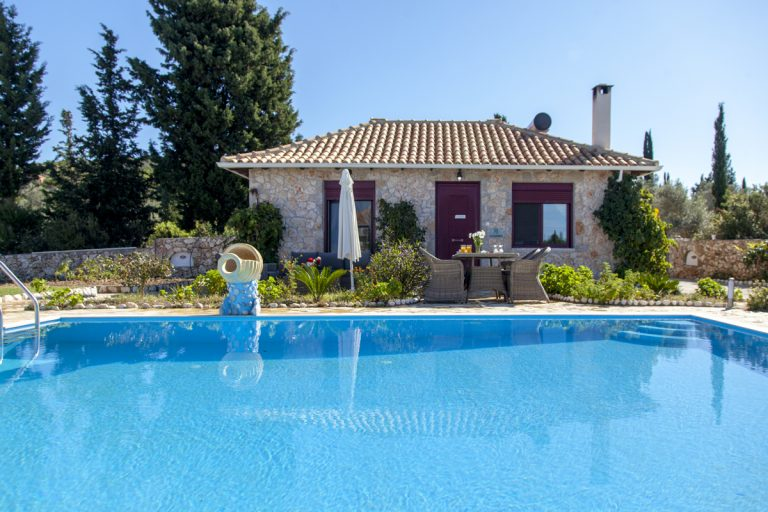 villa alexandros in lefkada is perfect for couples and small families