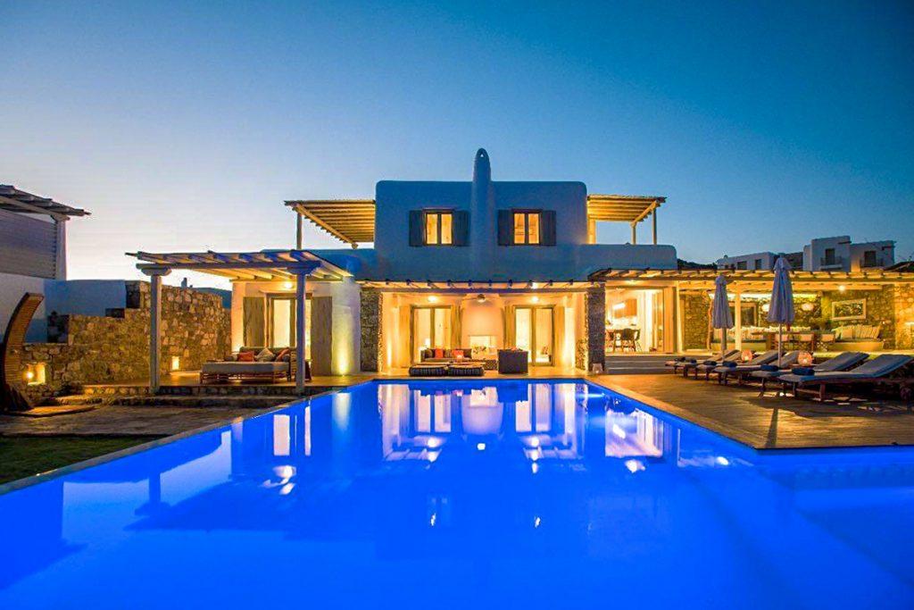 villa assa in mykonos greece