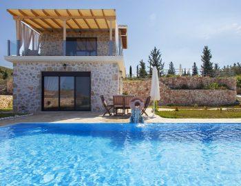 villa natalia tsoukalades lefkada greece with large family pool