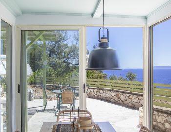 villa anemus sivota lefkada greece dining table