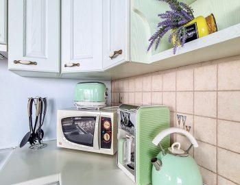villa anemus sivota lefkada greece kitchen