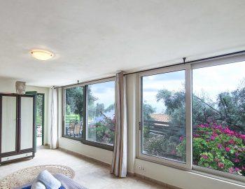 villa anemus sivota lefkada greece master bedroom garden view
