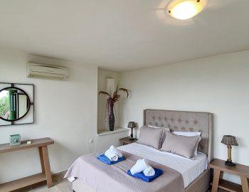 villa anemus sivota lefkada greece master bedroom