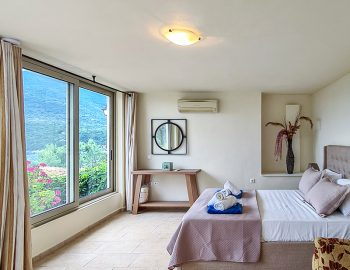 villa anemus sivota lefkada greece master bedroom sea view