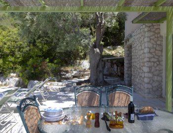 villa anemus sivota lefkada greece outdoor dining