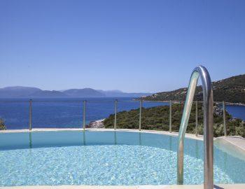 villa anemus sivota lefkada greece private infinity pool