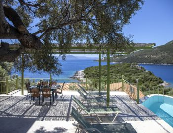 villa anemus sivota lefkada greece private outdoor area