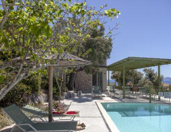 villa anemus sivota lefkada greece private pool area 1