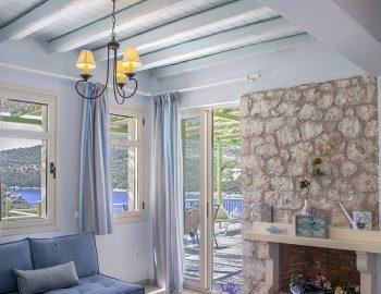 villa anemus sivota lefkada greece traditional lounge room