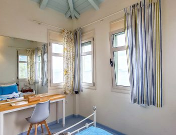villa anemus sivota lefkada greece upper bedroom