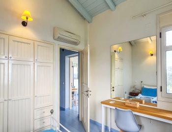 villa anemus sivota lefkada greece upper double bedroom