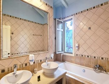 villa anemus sivota lefkada greece upper level bathroom