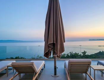 villa blue infinity syvota epirus greece accommodation