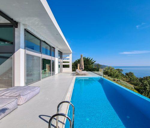villa blue infinity syvota epirus greece cover photo