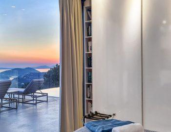 villa blue infinity syvota epirus greece ground level bedroom