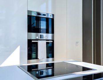 villa blue infinity syvota epirus greece kitchen