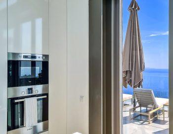 villa blue infinity syvota epirus greece luxury kitchen