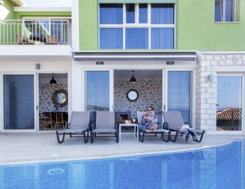 villa cohili in sivota lefkada with private pool and sea view