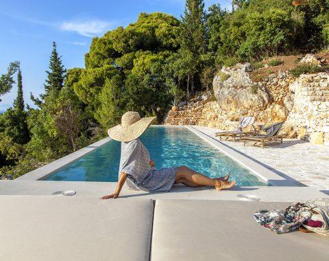 villa dalula in agios nikitas lefkada with private pool and sea views