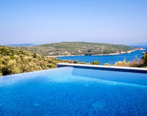 villa de ewelina in ammouso lefkada with private pool and jacuzzi