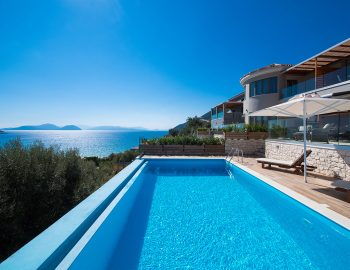 villa mare in vasiliki lefkada greece with panoramic sea view