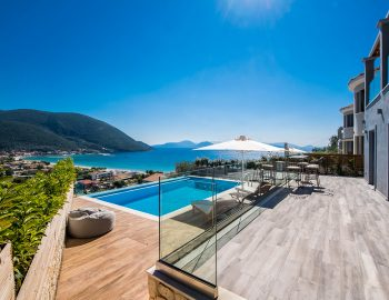 villa ostria in vasiliki lefkada greece with private pool and sea view