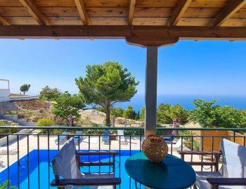 villa endless blue kalamitsi lefkada greece bedroom balcony