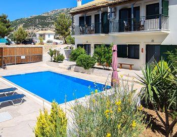 villa endless blue kalamitsi lefkada greece garden area