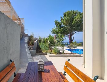 villa endless blue kalamitsi lefkada greece outdoor seating 1