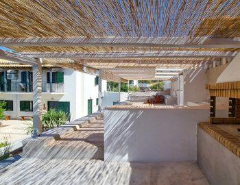 villa endless blue kalamitsi lefkada greece traditional bbq area