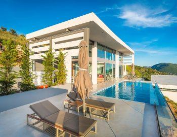 villa glass sivota epirus stylish luxury building