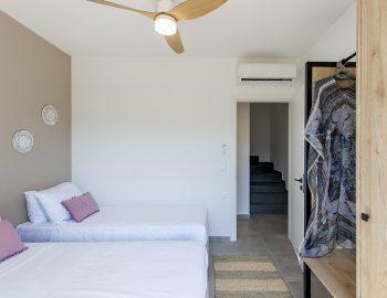 villa-idanos-dessimi-lefkada-greece-twin-bedroom-lower-level
