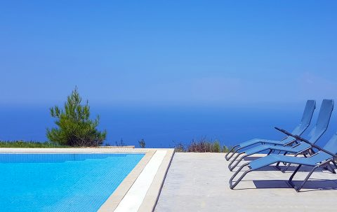 villa klearista in kalamitsi lefkada greece with ionian sea view