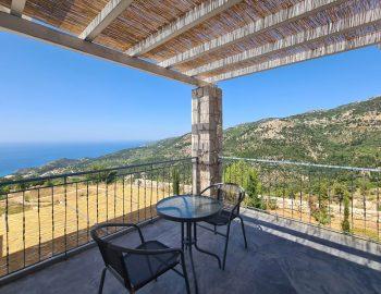 villa klearista kalamitsi lefkada greece balcony with seating