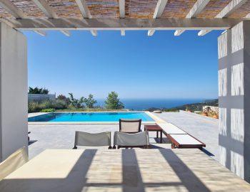 villa klearista kalamitsi lefkada greece outdoor dining area