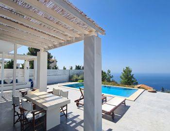 villa klearista kalamitsi lefkada greece private outdoor area