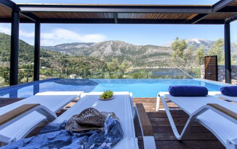 villa luca in lefkada greece luxury accommodation