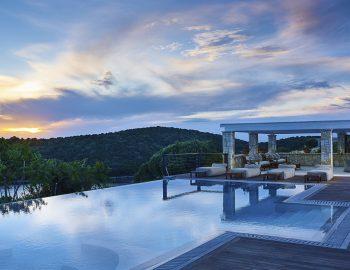 villa luna in sivota epirus greece with private pool and ionian sea view