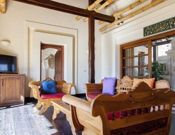 villa-mimoza-nidri-lefkada-luxury-accommodation-greece-bedroom-quarters-living-area