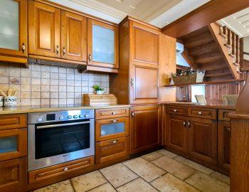 villa ostria sivota lefkada greece fully equipped kitchen 1