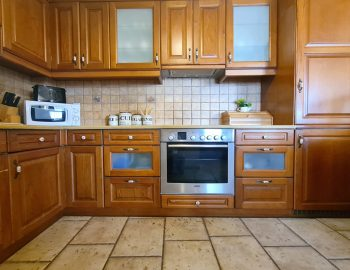 villa ostria sivota lefkada greece kitchen