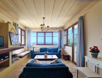 villa ostria sivota lefkada greece living area with sea view