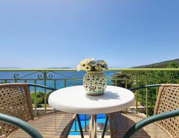 villa ostria sivota lefkada greece traditional balcony