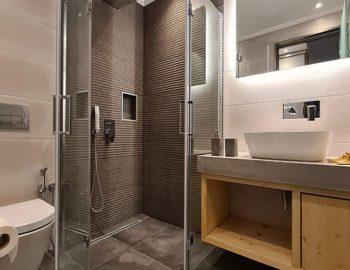 villa roya sivota lefkada greece bathroom with shower
