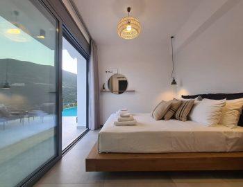 villa roya sivota lefkada greece lower ground bedroom