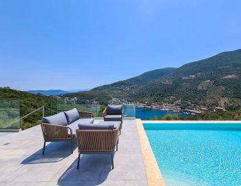 villa roya sivota lefkada greece outdoor lounge