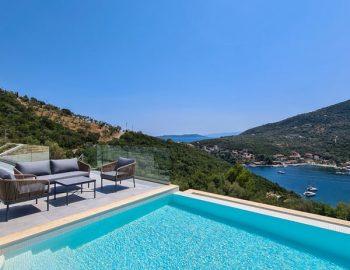 villa roya sivota lefkada greece pool view