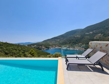 villa roya sivota lefkada greece sunbed luxury